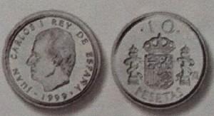 Moneda 10 pesetas