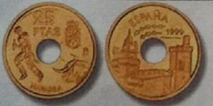Moneda 25 pesetas