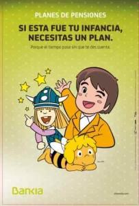 anuncio de plan de pensiones