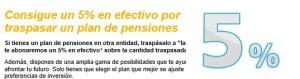 traspaso plan de pensiones