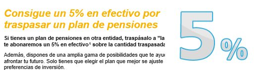traspaso plan de pensiones