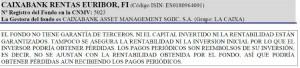 CaixaBank Rentas Euribor