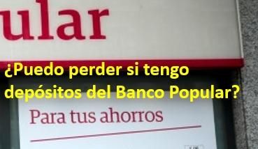 Depósitos Banco Popular