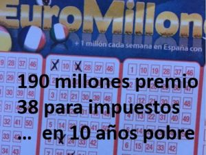 Premio Euromillón Impuestos