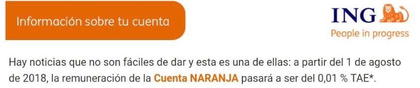 Cuenta Naranja