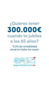 AHORRAR 300.000 EUROS PARA LA JUBILACIÓN