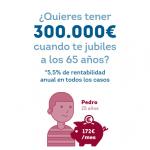 ahorrar 300.000 € para la jubilación
