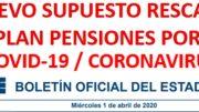 rescate plan de pensiones por Covid